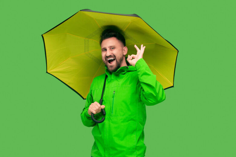 風に強い折りたたみ傘 ブランド (TOTESトーツタイタン)